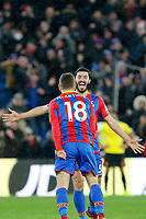 GOAL - James McArthur of Crystal Palace scores the winning goal during the EPL - Premier League match between Crystal Palace and Watford at Selhurst Park, London, England on 12 December 2017. Photo by Carlton Myrie / PRiME Media Images.