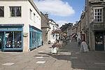Pedestrianised shopping street, Corsham, Wiltshire, England