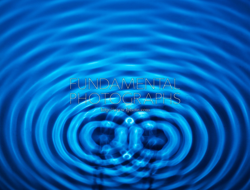 INTERFERENCE PATTERNS OF 2 POINT SOURCES<br /> 2 Sets of Concentric Waves In A Ripple Tank<br /> Constructive interference occurs when crests meet crests or troughs meet troughs, forming an anti-nodal line.  Destructive interference occurs when crests meet troughs, forming a nodal line.