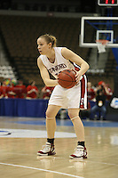 18 March 2006: Christy Titchenal during Stanford's 72-45 win over Southeast Missouri State in the first round of the NCAA Women's Basketball championships at the Pepsi Center in Denver, CO.