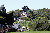 CARMEL - APR 29: Doris Day's house in Carmel Valley, California on April 29, 2011.