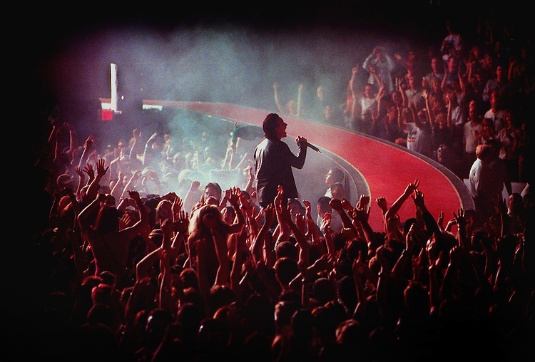 U2 in concert. (more info to come) photo by Richard Hartog/LA Times