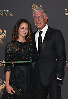 LOS ANGELES, CA - SEPTEMBER 09: Anthony Bourdain, Asia Argento, at the 2017 Creative Arts Emmy Awards at Microsoft Theater on September 9, 2017 in Los Angeles, California. <br /> CAP/MPIFS<br /> &copy;MPIFS/Capital Pictures
