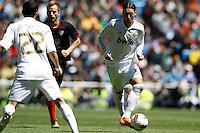 29.04.2012 SPAIN -  La Liga matchday 36th  match played between Real Madrid CF vs Sevilla Futbol Club (3-0) at Santiago Bernabeu stadium. The picture show Mesut Ozil (German midfielder of Real Madrid)