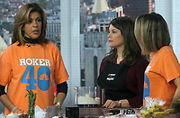 NEW YORK, NY - DECEMBER 14: Hoda Kotb, Gail Simmons, Dylan Dreyer on the set of NBC's Today in New York City on December 14, 2018. Credit: RW/MediaPunch