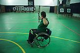 Ghiorghi Filip betreibt verschiedenen Sportarten. ehemalige Insassen von Kinerheimen in Rumänien