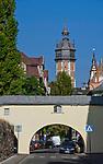 Ulica Skałeczna, w tle wieża kościoła Bożego Ciała, Krak&oacute;w, Polska<br /> Skałeczna Street, in the background tower of Corpus Christi Church, Cracow, Poland