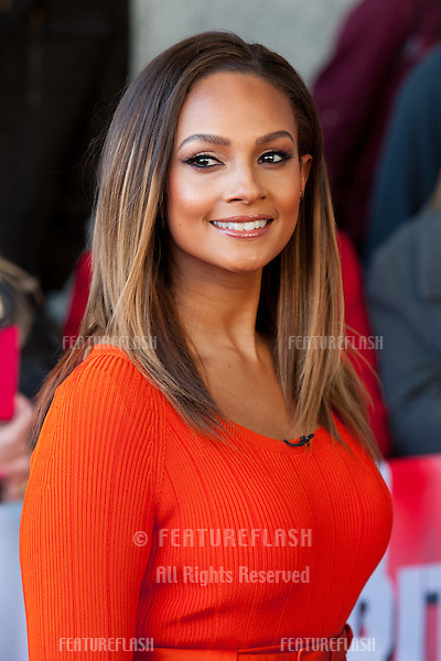 Alesha Dixon at Britain's Got Talent auditions held at the ICC<br /> Birmingham, England. 02/02/2014 Picture by: Henry Harris / Featureflash