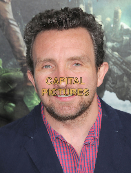 "Eddie Marsan.""Jack The Giant Slayer"" Los Angeles Premiere held at Grauman's Chinese Theatre, Hollywood, California, USA..February 26th, 2013.headshot portrait blue pink check shirt stubble facial hair .CAP/RKE/DVS.©DVS/RockinExposures/Capital Pictures."