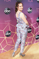 05 August 2019 - West Hollywood, California - Emma Kenney. ABC's TCA Summer Press Tour Carpet Event held at Soho House.   <br /> CAP/ADM/BB<br /> ©BB/ADM/Capital Pictures