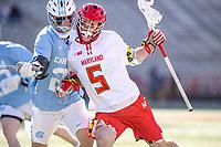 NCAA LACROSSE: North Carolina at Maryland