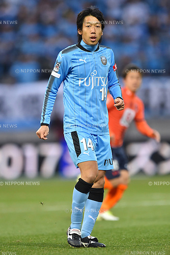 Kengo Nakamura (Frontale),<br /> FEBRUARY 25, 2017 - Football / Soccer :<br /> 2017 J1 League match between Omiya Ardija 0-2 Kawasaki Frontale at NACK5 Stadium Omiya in Saitama, Japan. (Photo by AFLO)