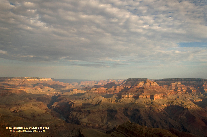 Sunrise on the 4th of July<br /> from Lipan Point, looking west.<br /> Freedom Rises with the Sun