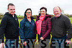 Kilflynn Coursing: Attending the Kilflynn Coursing meeting on Sunday last were James Fitzgerald, Moyvane, Aisling & Marie McCarthy, Listowel & Sean Carr, Asdee.