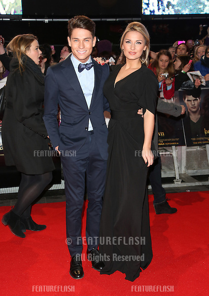 "Joey Essex and Sam Faiers arriving for the ""The Twilight Saga: Breaking Dawn Part 2"" premiere at the Odeon Leicester Square, London. 14/11/2012 Picture by: Henry Harris / Featureflash"