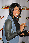 LOS ANGELES, CA. - December 05: Keri Hilson arrives at the KIIS FM's Jingle Ball 2009 at the Nokia Theatre L.A. Live on December 5, 2009 in Los Angeles, California.