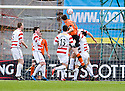 05/02/2011   Copyright  Pic : James Stewart.sct_jsp003_hamitlon_v_dundee_utd  .::  JON DALY SCORES HEADS HOME DUNDEE UTD'S FIRST  ::.James Stewart Photography 19 Carronlea Drive, Falkirk. FK2 8DN      Vat Reg No. 607 6932 25.Telephone      : +44 (0)1324 570291 .Mobile              : +44 (0)7721 416997.E-mail  :  jim@jspa.co.uk.If you require further information then contact Jim Stewart on any of the numbers above.........