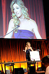 Erin Andrews was MC at.Making Headway Foundation's  Holly's Angels .gala at Cipriani in New York City.   The benefit honored the memory of Holly Lind.
