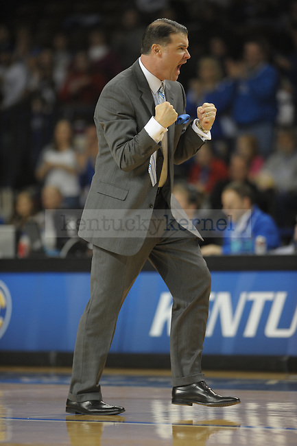 UK's Head Coach Matthew Mitchell during the second half of the University of Kentucky Womens's basketball game against Georgia at Memorial Coliseum in Lexington, Ky., on 1/9/11. Uk lost the game 59-61. Photo by Mike Weaver | Staff