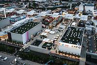 Aerial views Milano Expo 2015.