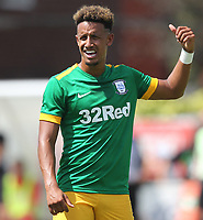 Preston North End's Callum Robinson<br /> <br /> Photographer Mick Walker/CameraSport<br /> <br /> Pre-Season Friendly -Bamber Bridge v Preston North End  - Saturday 7th July  2018 - Irongate Stadium,Bamber Bridge<br /> <br /> World Copyright &copy; 2018 CameraSport. All rights reserved. 43 Linden Ave. Countesthorpe. Leicester. England. LE8 5PG - Tel: +44 (0) 116 277 4147 - admin@camerasport.com - www.camerasport.com