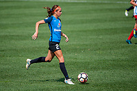 Kansas City, MO - Saturday September 9, 2017: Shea Groom during a regular season National Women's Soccer League (NWSL) match between FC Kansas City and the Chicago Red Stars at Children's Mercy Victory Field.