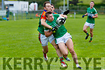 James O'Donoghue Legion in action against Darran O'Sullivan Mid Kerry in Killorglin on Saturday.