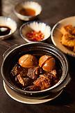 VIETNAM, Saigon, Cuc Gach Quan restaurant in District 1, Th·t kho (pork belly stewed in a claypot), Ho Chi Minh City