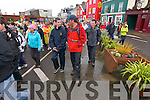 Walking the Dingle to Annascaul charity walk in aid of the Children's Leukaemia Association on Sunday morning...