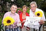 ASKING A FAVOUR: The Kerry Hospice Foundation is calling on all bride and grooms to remember their charity instead of wedding favours. From l-r were: Conor Cuzack (PRO), Maura Sullivan (Treasurer) and Ted Moynihan(Chairman).