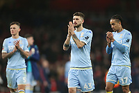 Leeds United's Mateusz Klich leads the applauds of the fans at the end of the game<br /> <br /> Photographer Rob Newell/CameraSport<br /> <br /> Emirates FA Cup Third Round - Arsenal v Leeds United - Monday 6th January 2020 - The Emirates Stadium - London<br />  <br /> World Copyright © 2020 CameraSport. All rights reserved. 43 Linden Ave. Countesthorpe. Leicester. England. LE8 5PG - Tel: +44 (0) 116 277 4147 - admin@camerasport.com - www.camerasport.com