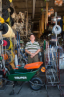 Miguel Ernesto Garcia Lopez. Hardware store owners in Culiacan, Sinaloa,  Mexico