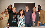 Apache Ramos, Brian Tyler, Thomas G. Waite, Deborah Van Valkenburgh, Michael Beck, Terry Michos, Dorsey Wright - The Warriors - 30 years reunion during Q & A at the Super Megashow & Comic Fest on August 30, 2009 in Secaucus, New Jersey (Photo by Sue Coflin/Max Photos)