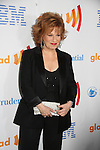 Joy Behar - AMC - OLTL - The View is presented the Excellence in Media Award by Meredith Vieira at the 21st Annual GLAAD Media Awards on March 13, 2010 at the New York Marriott Marquis, New York City, NY. (Photo by Sue Coflin/Max Photos)