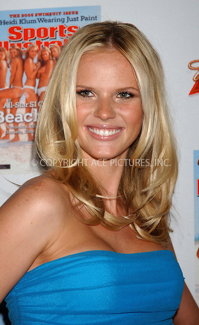 WWW.ACEPIXS.COM . . . . . ....NEW YORK, FEBRUARY 14, 2006....Anne V at the 2006 Sports Illustrated Swimsuit Issue Press Event.....Please byline: KRISTIN CALLAHAN - ACEPIXS.COM.. . . . . . ..Ace Pictures, Inc:  ..Philip Vaughan (212) 243-8787 or (646) 679 0430..e-mail: info@acepixs.com..web: http://www.acepixs.com