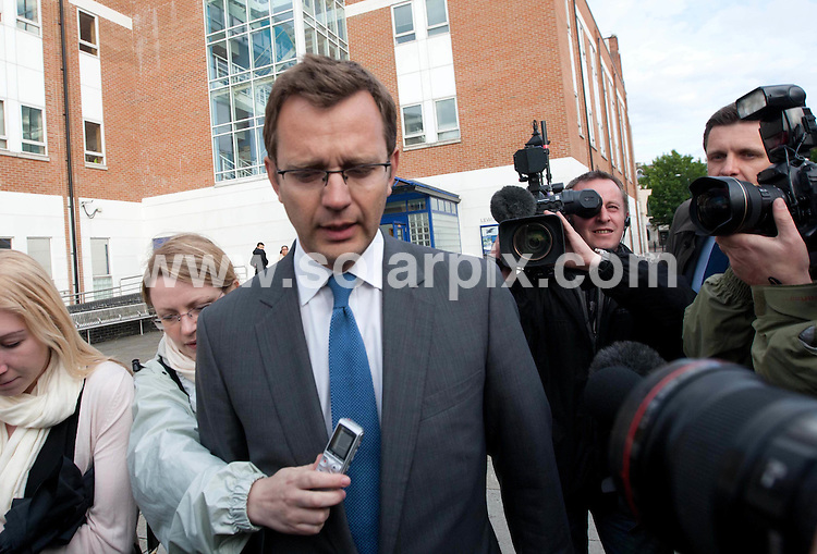**ALL ROUND PICTURES FROM SOLARPIX.COM**                                             **NO UK NEWSPAPER PUBLICATION**.**UK MAGAZINE & SUPPLEMENT PUBLICATION ONLY** AND NO PUBLICATION IN AUSTRALIA, BELGIUM, FRANCE, GERMANY, ITALY, SCANDINAVIA AND USA**                                                                                  Caption:  Former News Of The World Editor Andy Coulson leaves Lewisham Police station in South London this evening after he arrested in connection with allegations of phone hacking and illegal payments to police officers.                                                                              This pic:Andy Coulson                                                                                              JOB REF: 13684       SFE       DATE: 08.07.2011                                                           **MUST CREDIT SOLARPIX.COM OR DOUBLE FEE WILL BE CHARGED**                                                                      **MUST AGREE FEE BEFORE ONLINE USAGE**                               **CALL US ON: +34 952 811 768 or LOW RATE FROM UK 0844 617 7637**