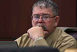 Nevada Assembly Minority Leader Pete Goicoechea, R-Eureka, works in committee on Tuesday, May 3, 2011, at the Legislature in Carson City, Nev. .Photo by Cathleen Allison