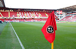 Blades corner flag during the Championship match at Bramall Lane Stadium, Sheffield. Picture date 26th December 2017. Picture credit should read: Simon Bellis/Sportimage