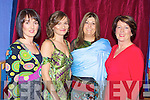 Models Lorraine O'Shea, Sylvie Riegelova, Mary Anne Teahan and Delia Foley at the gala fashion show in aid of the CYMS development fund on Thursday night.