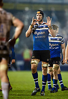 Luke Charteris of Bath Rugby. Premiership Rugby Cup match, between Bath Rugby and Gloucester Rugby on February 3, 2019 at the Recreation Ground in Bath, England. Photo by: Patrick Khachfe / Onside Images
