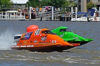 Gary Barber, (#20) and  Jason Nelson, (#18) (SST-45 class)