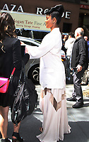 NEW YORK, NY - MAY 7: Gabrielle Union seen after an appearance on NBC's Today Show while promoting her new film,  'Breaking In' on May 7, 2018 in New York City. Credit: RW/MediaPunch