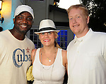 "From left: D.J. Senga, Liz Gorman and Stephen Jones at the ""A Night in Havana""  benefit at Concepcion on W. Alabama  Saturday July 21, 2012.(Dave Rossman/For the Chronicle)"