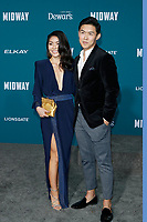 "LOS ANGELES - NOV 5:  Masumi, Kenny Leu at the ""Midway"" Premiere at the Village Theater on November 5, 2019 in Westwood, CA"
