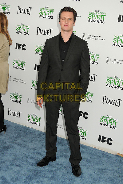 1 March 2014 - Santa Monica, California - Jonathan Groff. 2014 Film Independent Spirit Awards - Arrivals held at Santa Monica Beach. <br /> CAP/ADM/BP<br /> &copy;Byron Purvis/AdMedia/Capital Pictures