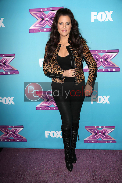 Khloe Kardashian<br />