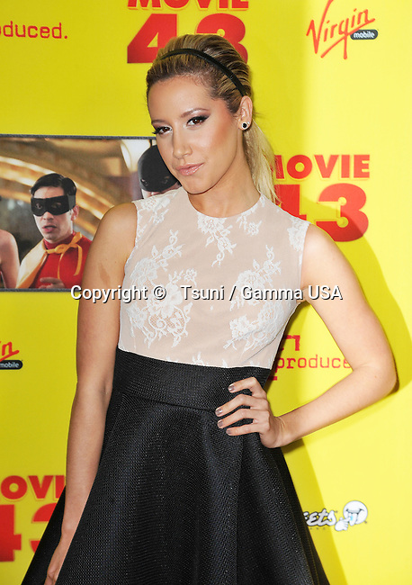 Ashley Tisdale at Movie 43 Premiere at the Chinese Theatre In Los Angeles.