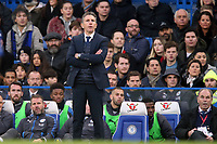 Leicester city manager Claude Puel during Chelsea vs Leicester City, Premier League Football at Stamford Bridge on 13th January 2018
