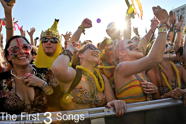 Fans at Hangout Music Fest in Gulf Shores, Alabama on May 20, 2012.