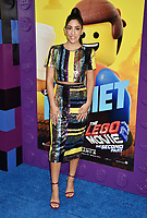 WESTWOOD, CA - FEBRUARY 02: Stephanie Beatriz attends the Premiere Of Warner Bros. Pictures' 'The Lego Movie 2: The Second Part' at Regency Village Theatre on February 2, 2019 in Westwood, California.<br /> CAP/ROT/TM<br /> ©TM/ROT/Capital Pictures